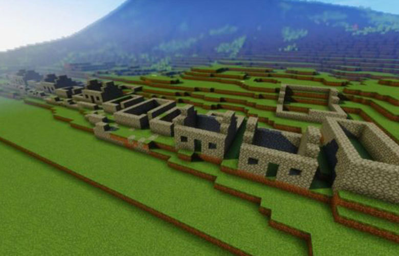 St Kilda Islands Recreated In Minecraft